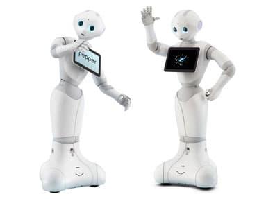 Recepční robot